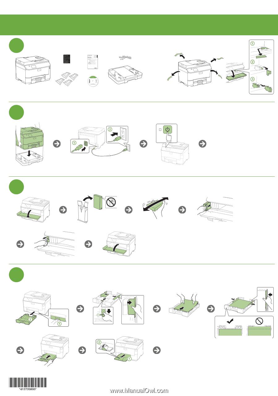 epson workforce pro wf 4630 start here. Black Bedroom Furniture Sets. Home Design Ideas