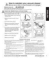 Eureka Airspeed Zuum As5203a Owner S Guide