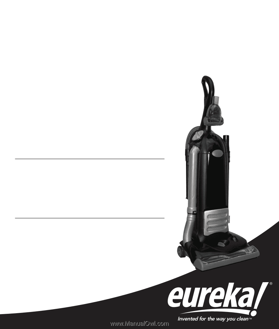 Thank you for purchasing your new Eureka vacuum!
