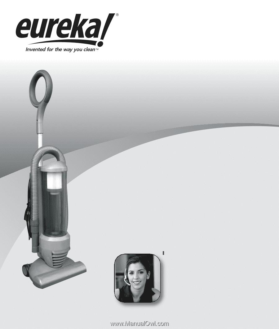 Before Returning, Call. Eureka Customer Service