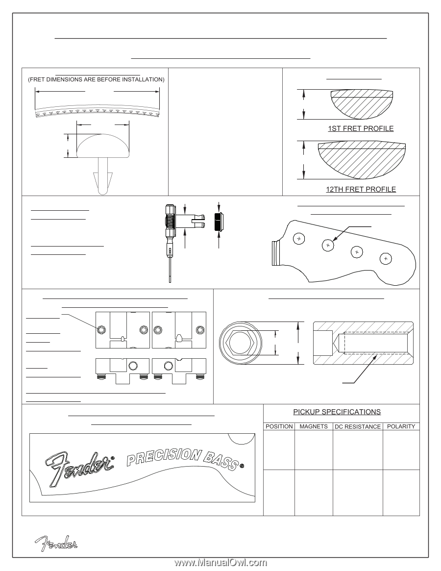 [DIAGRAM_38ZD]  Fender Deluxe Active Precision Bass Special | Fender Deluxe Active  Precision Bas - Page 6 | Fender Deluxe P B Wiring Diagram |  | Manual Owl