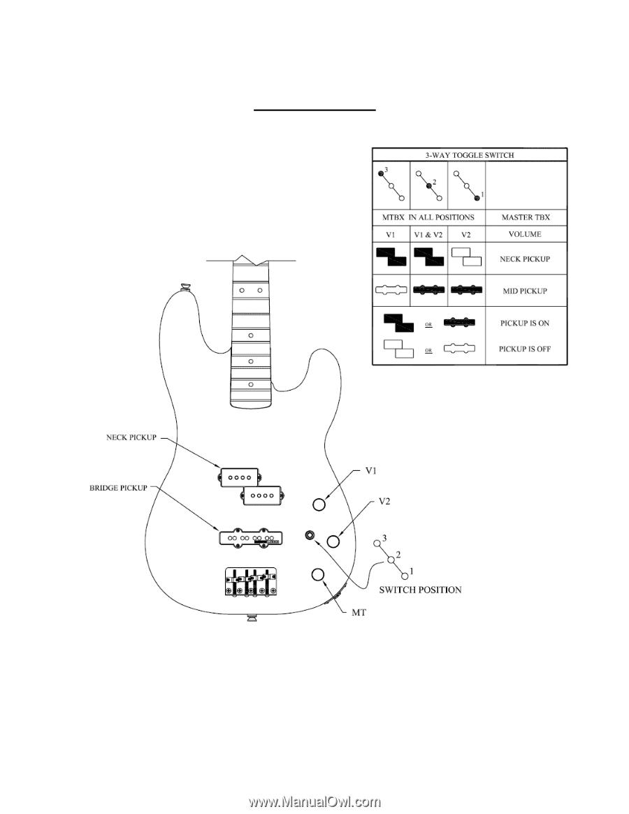 Fender Tbx Wiring Diagram