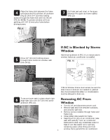 Frigidaire fac124p1a installation instructions for Climatiseur fenetre vertical