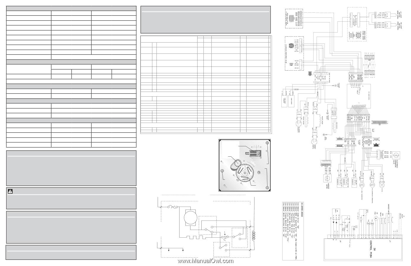Frigidaire Ice Maker Wiring Diagram from www.manualowl.com