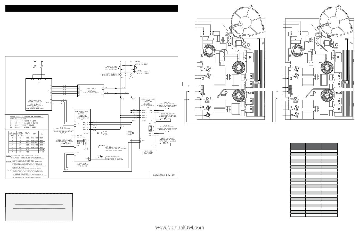 Frigidaire FPIC3077RF | Wiring DiagramManual Owl