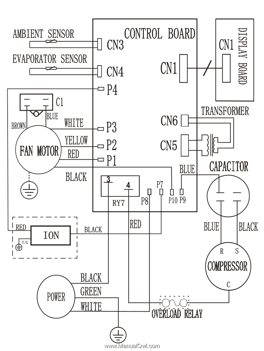 Frigidaire Fra186mt2 Wiring Diagram All Languages Wire 1