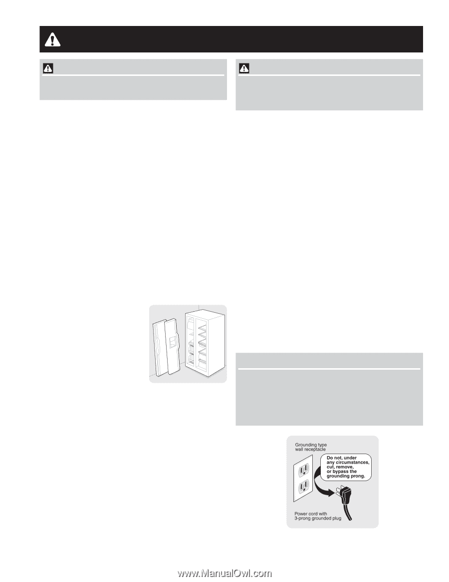 frigidaire frs6r5esb use and care manual rh manualowl com Frigidaire Gas Range Manual Frigidaire Refrigerator Manual