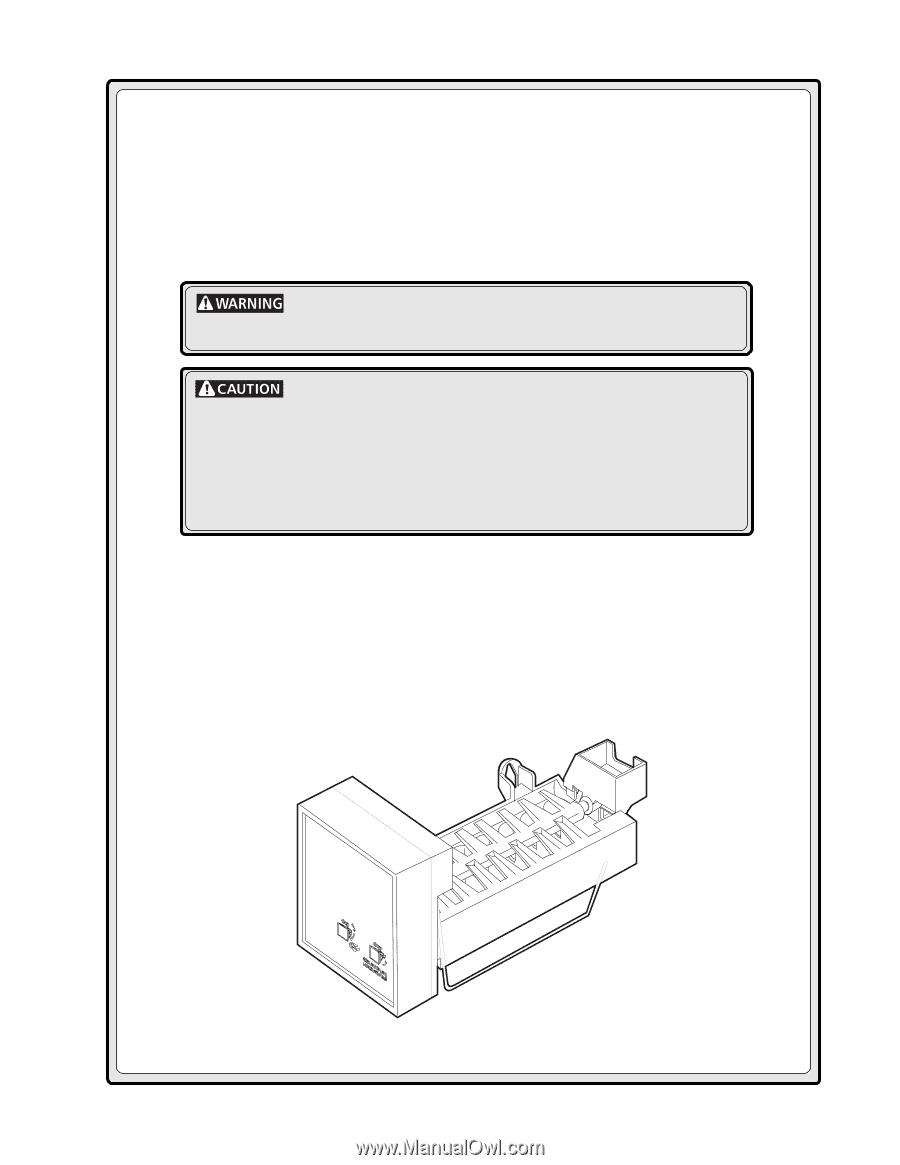 Frigidaire Im115 User Manual