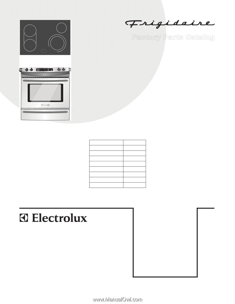 frigidaire ples399ec parts catalog. Black Bedroom Furniture Sets. Home Design Ideas