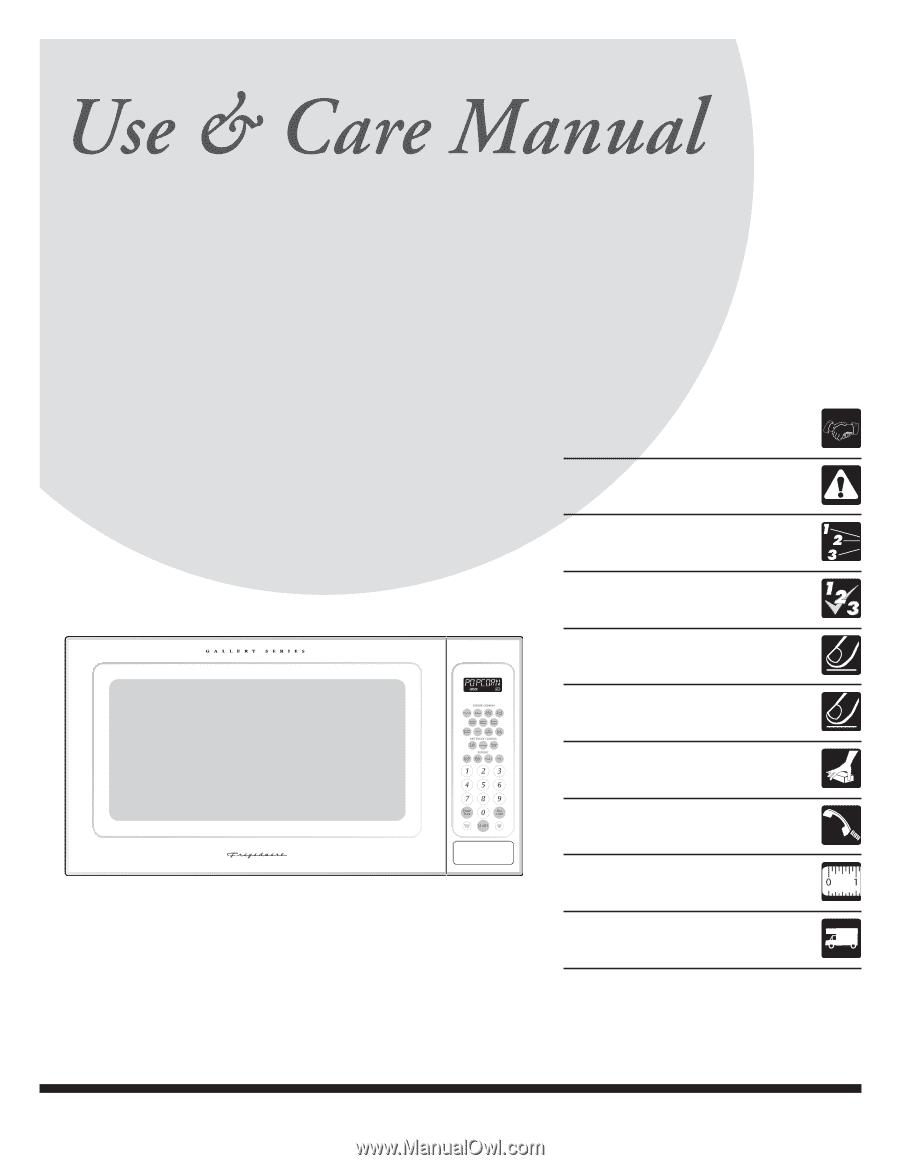 Frigidaire Plmbz209gc Manual Guide