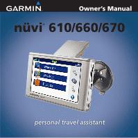 garmin nuvi 660 owner s manual rh manualowl com garmin nuvi 660 owners manual garmin 660 instruction manual