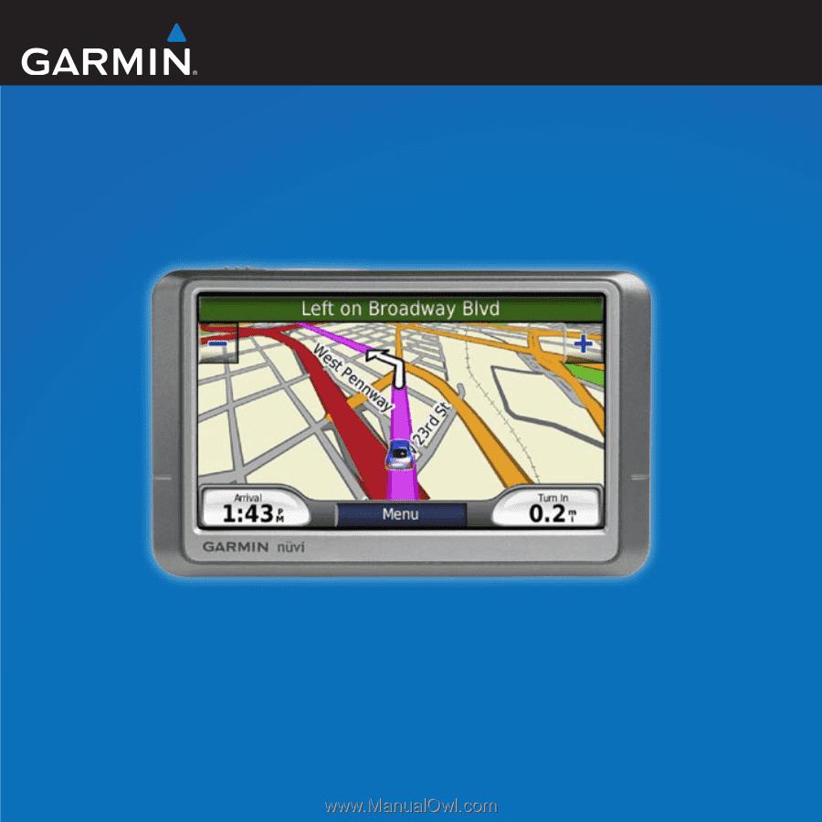 garmin nuvi 200 owner s manual rh manualowl com Garmin Nuvi Instruction Manual Bicycle Garmin Nuvi 200 Manual