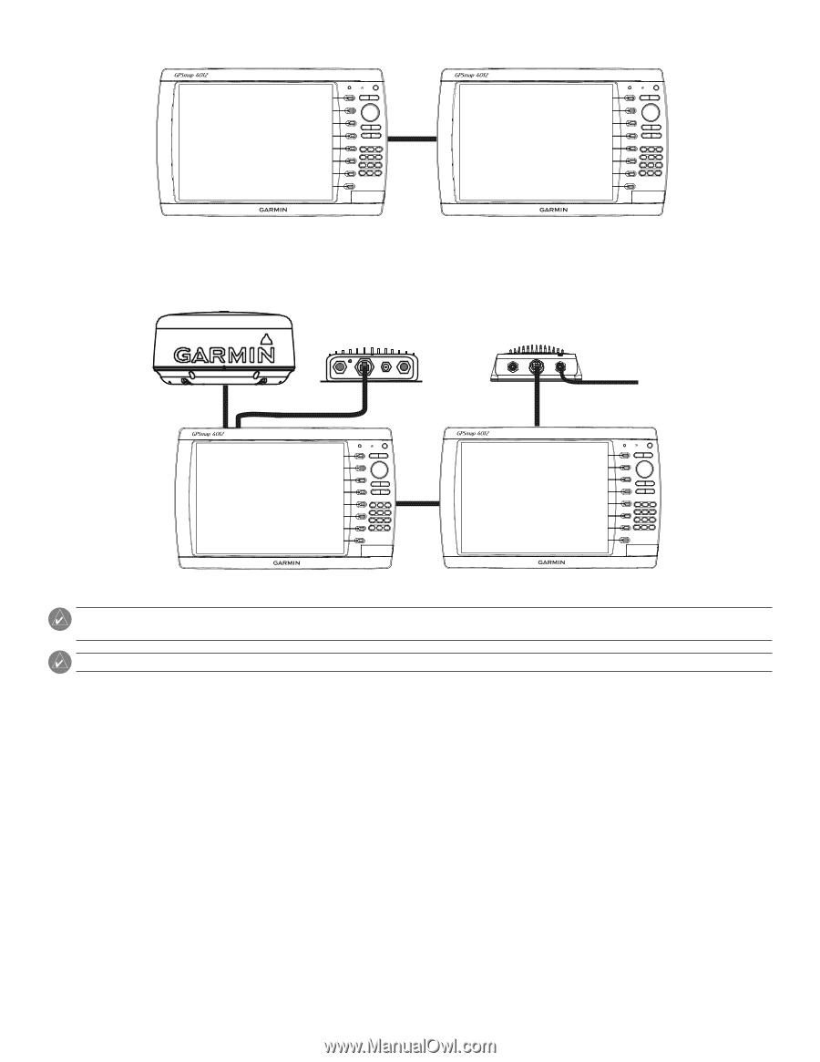 garmin fish finder wiring diagram garmin bc 20 wiring diagram garmin gpsmap 4208 | installation instructions - page 13