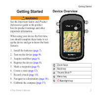 Garmin Etrex 30x Owners Manual