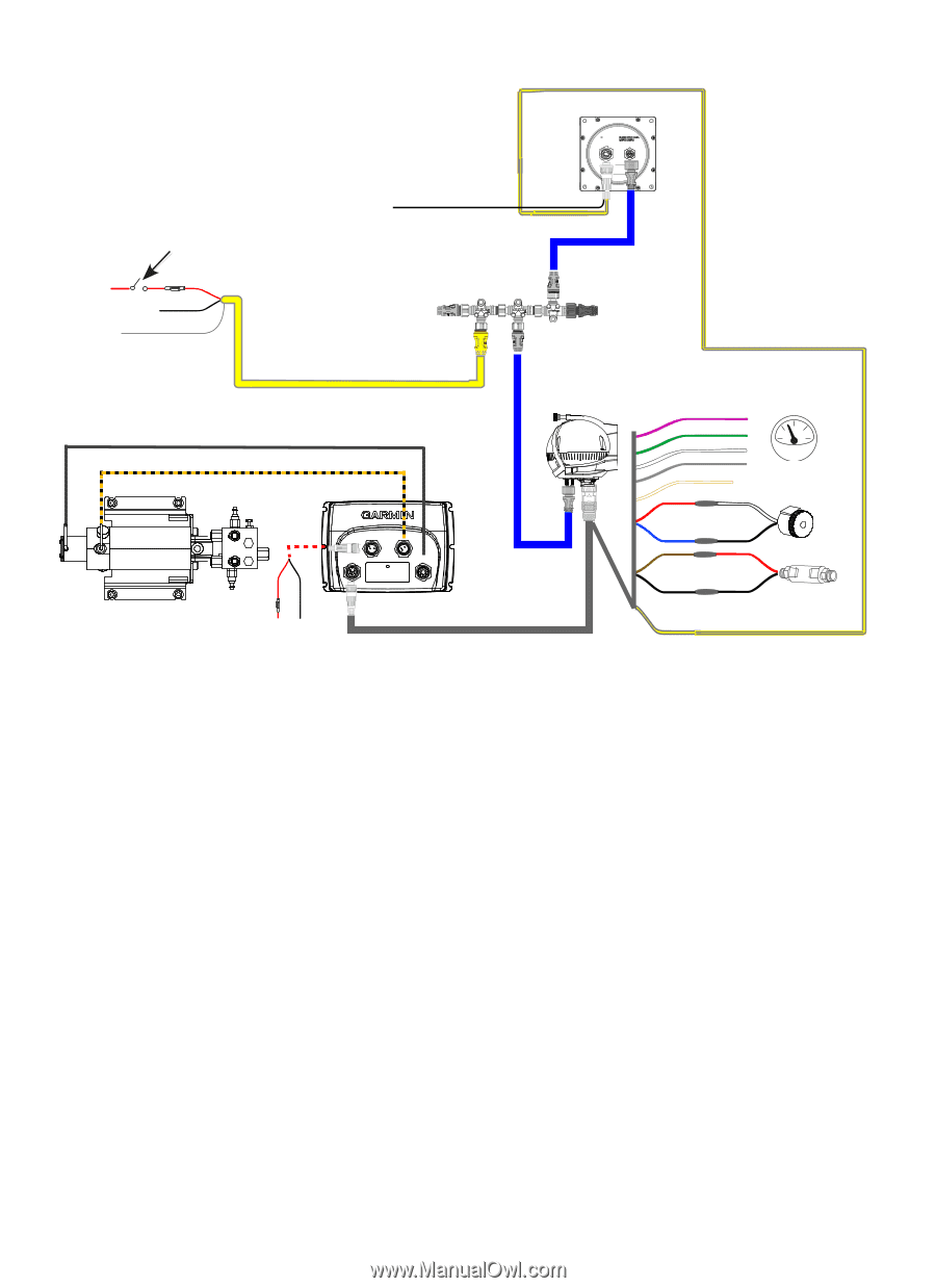 lowrance structure scan wiring diagram