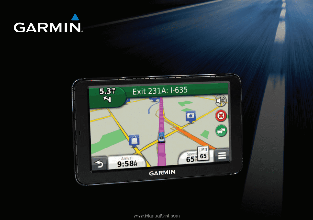 garmin nuvi 2555lt quick start manual Garmin Auto GPS Manual Owner's Manual Garmin GPS 40