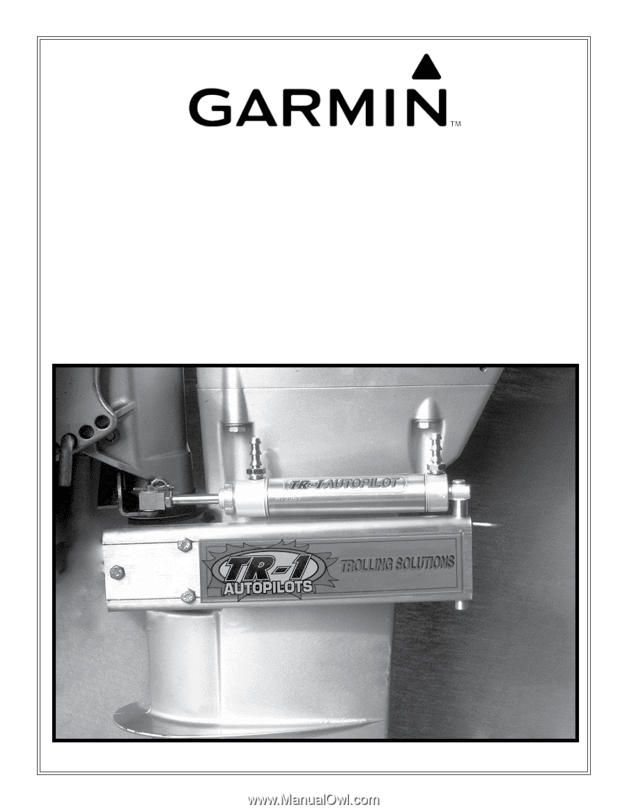 garmin tr  gold marine autopilot cylinder  bracket