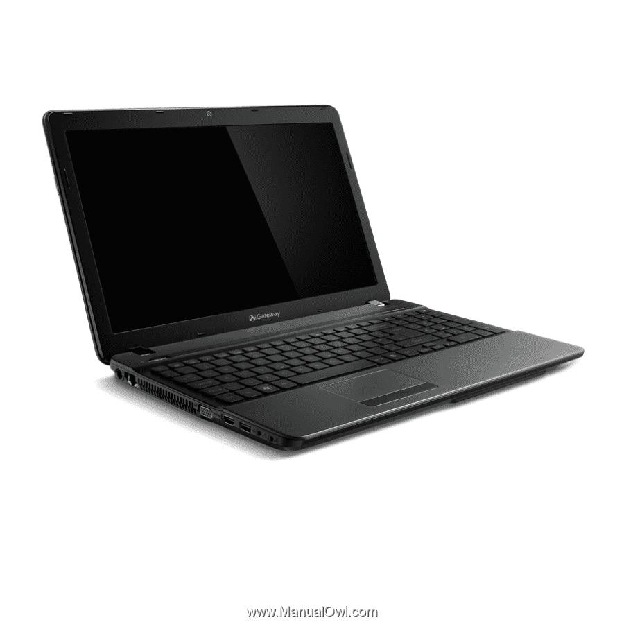 Gateway NV57H | User Manual