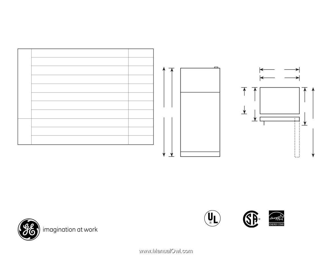 GE GIE18GSHSS | Quick Specs on
