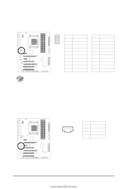 Gigabyte Ga 790xta Ud4 Manual Page 24 2x5 1394 6 Pin Wiring Diagram Hardware Installation