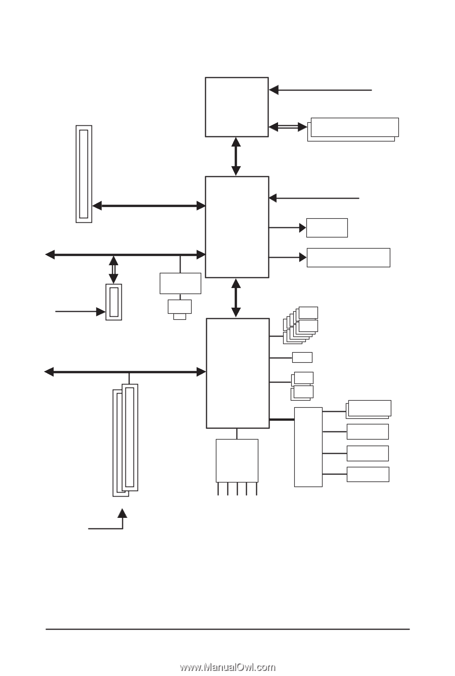 8 -. Block Diagram. j. Only for GA-MA74GM-S2H