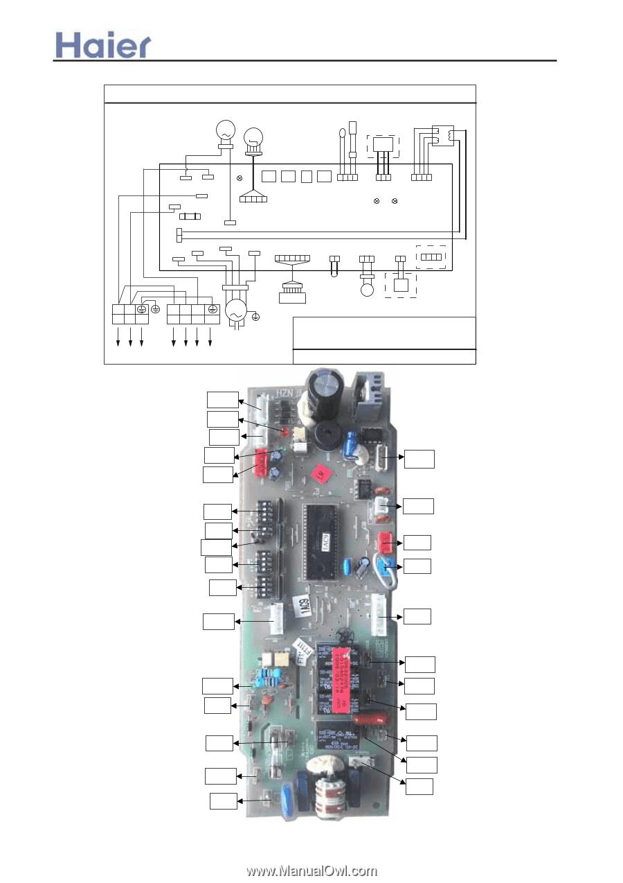 Haier AU42NALEAA | Service Manual - Page 153 on mini split parts list, mini split motor, mini split cable, mini split system, mini split heater, mini split tools, mini split wire, mini split thermostat, mini split installation, mini split power, mitzubishi 20 ton ductless split system heat pump diagram, mini split service, mini split troubleshooting, mini split compressor, mini split accessories, daikin inverter compressor diagram, mini split dimensions, mini split coil, mini split air conditioning,