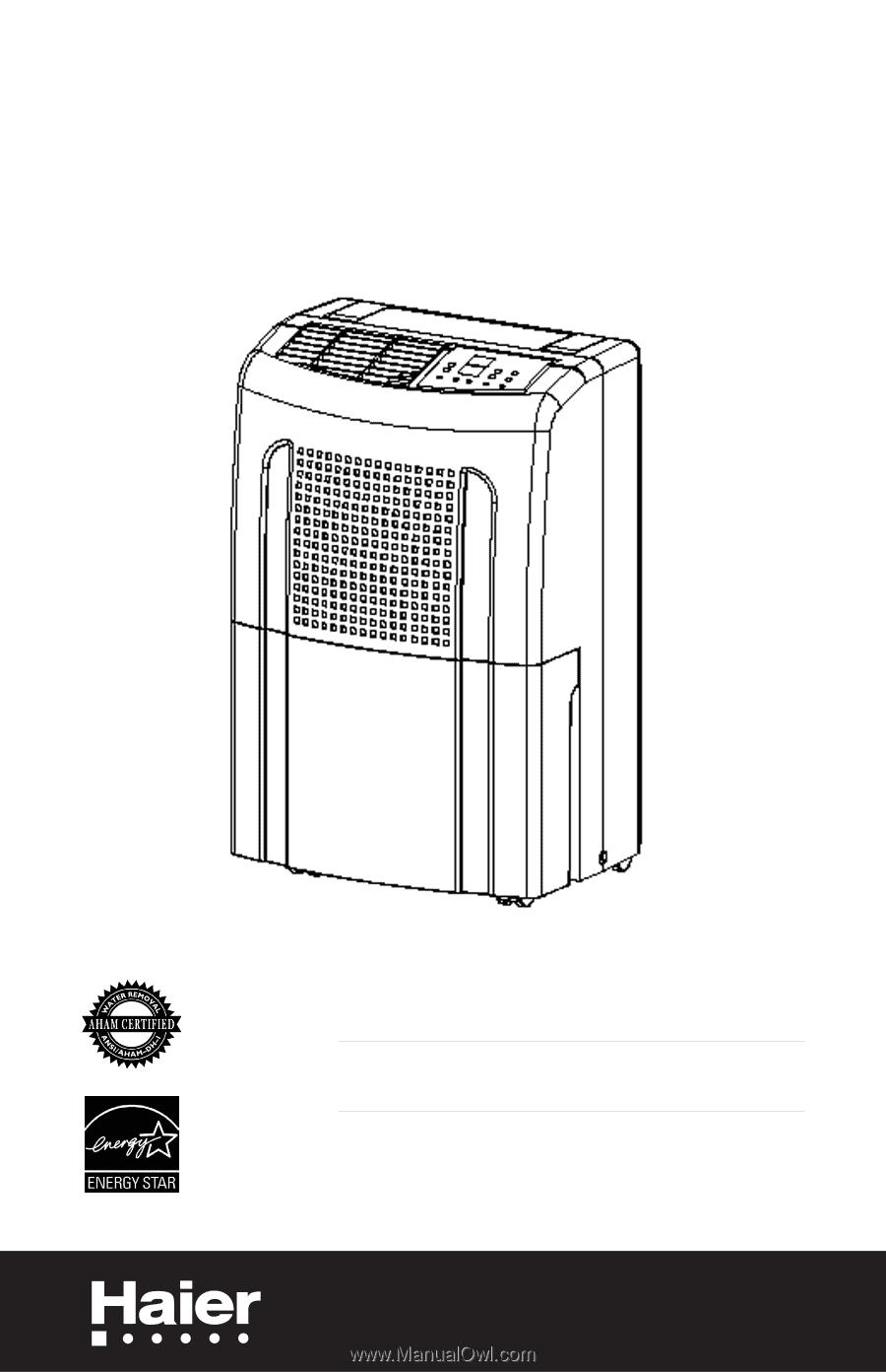 Haier hdn655e | user manual.