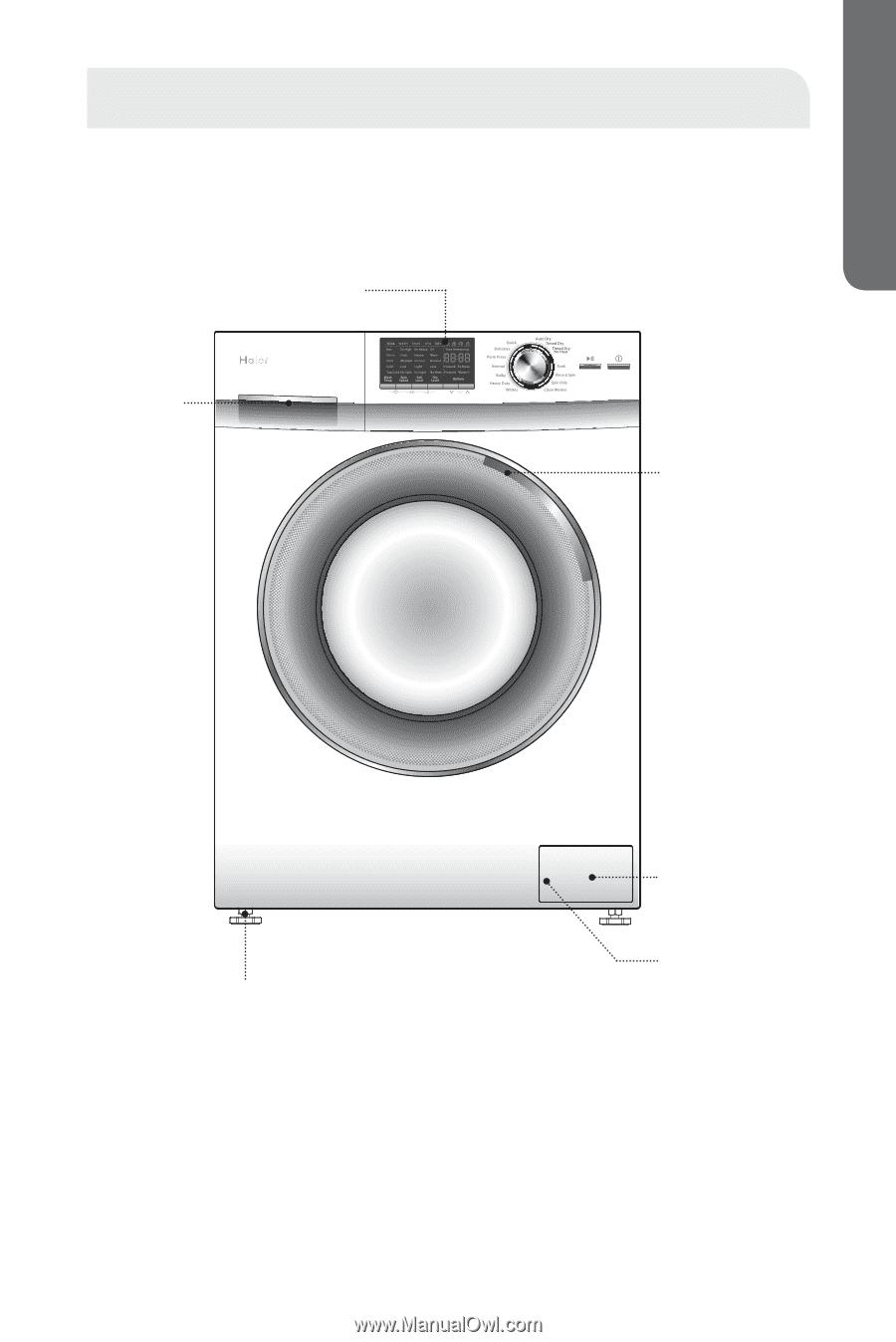 Fagor innovation Washing Machine manual