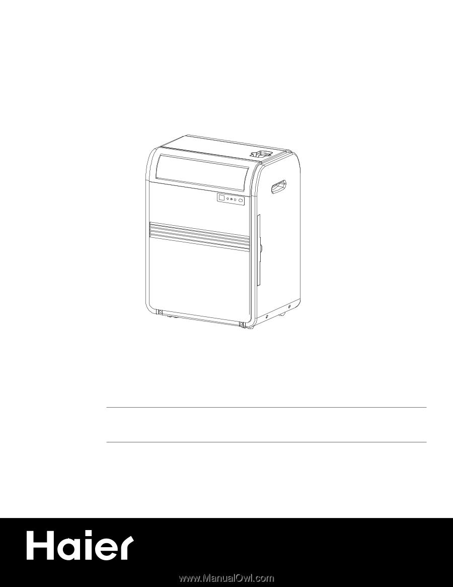 haier hprb07xc7 manual