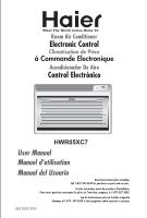 haier hwr05xc7 user manual rh manualowl com Haier Esa3089 Owner Manual Haier Esa3089 Owner Manual