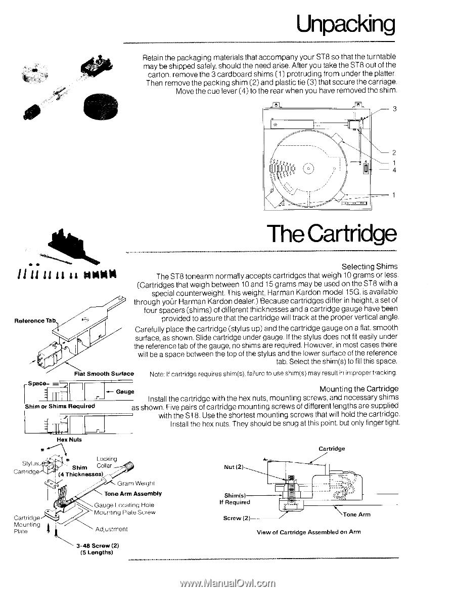 Harman kardon st8 manual review
