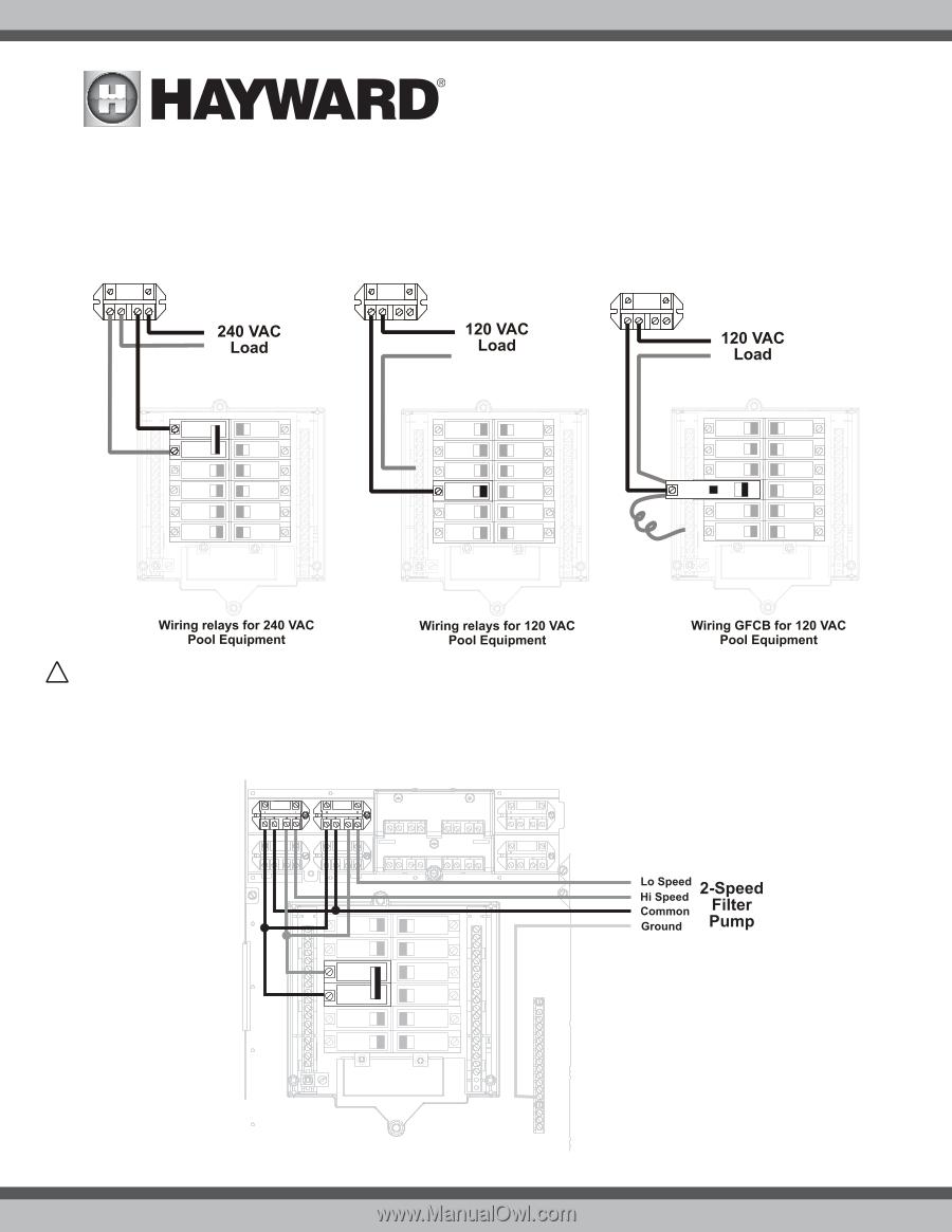 Hayward OmniLogic | Installation Manual - Page 21 on