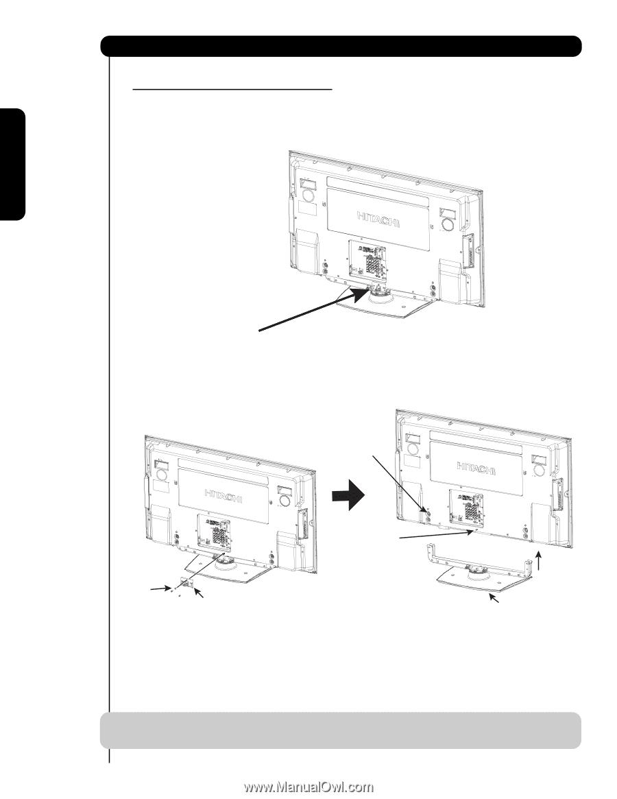 hitachi 55hds69 owners guide rh manualowl com 2006 Hitachi Flat Screen T V Hitachi 55 Plasma TV