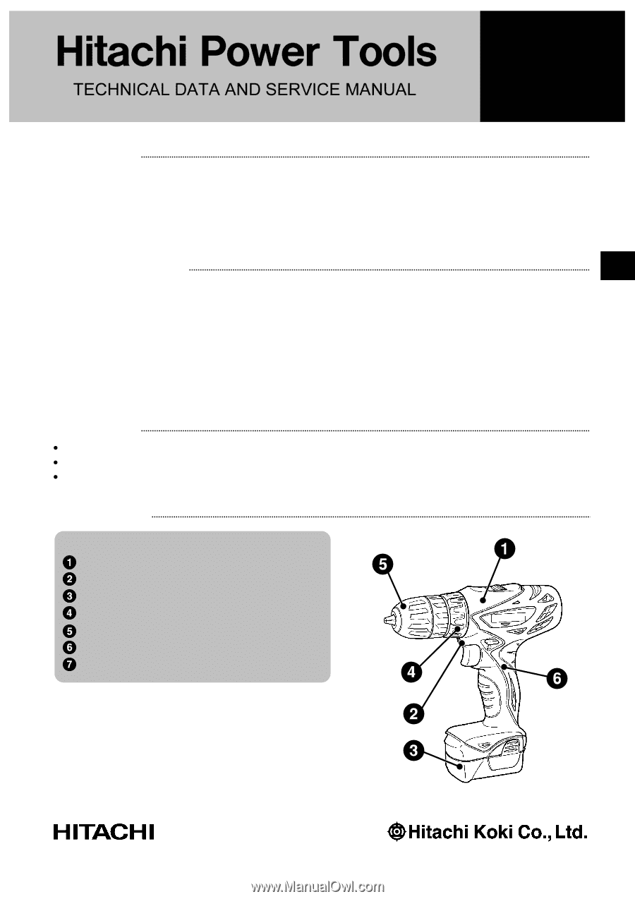 Hitachi Ds10dfl Service Manual Control Box Wiring Diagram New Features