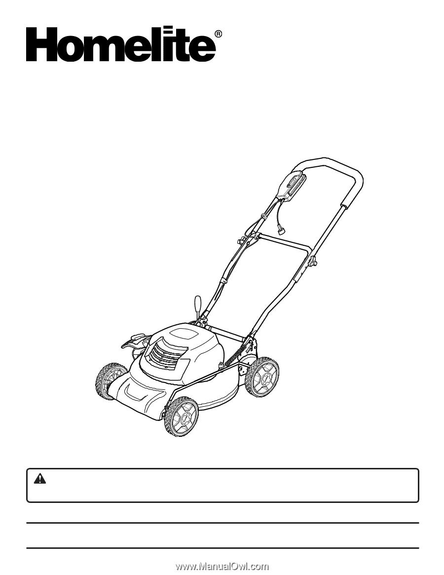 Homelite Ut13124 User Manual. Operator's Manual. Wiring. Homelite Ut13124 Parts Diagram At Scoala.co
