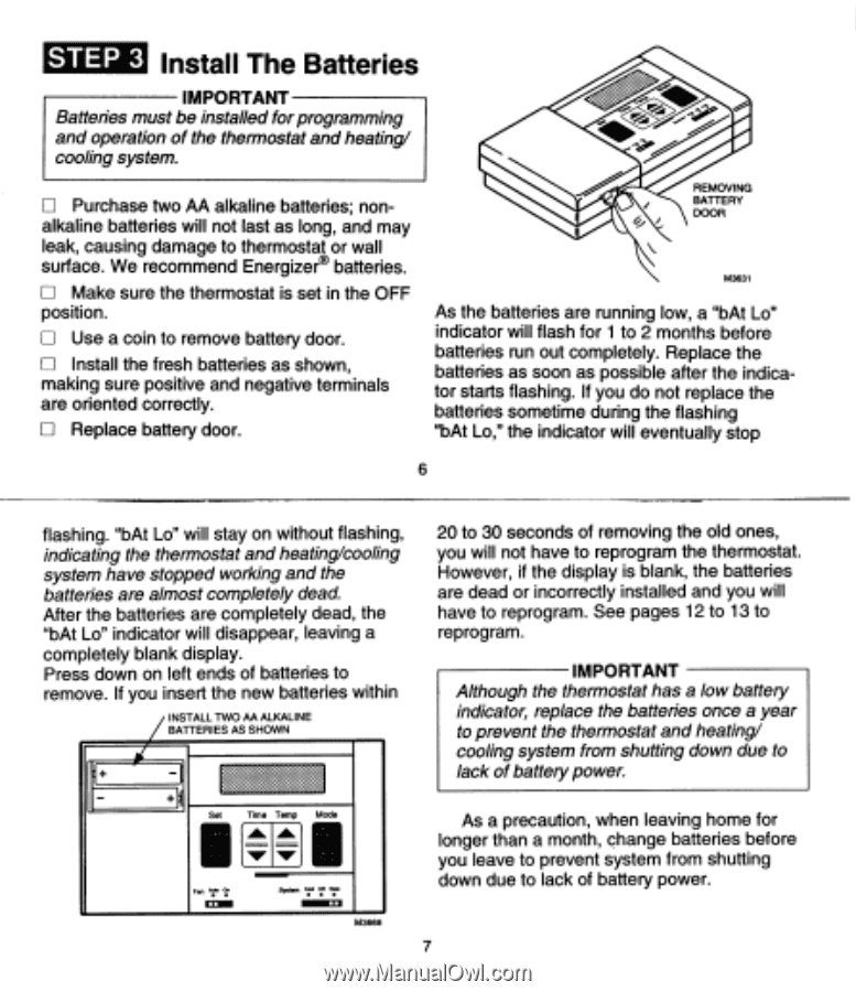 Honeywell CT2800A1017 | Owner's Manual - Page 5