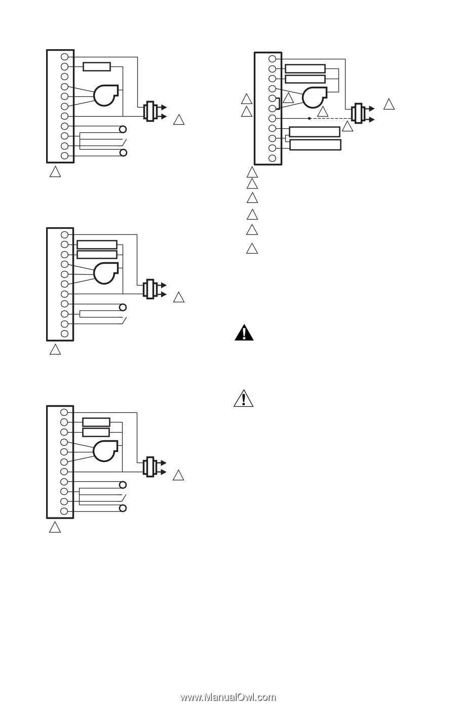 fan coil thermostat wiring diagram