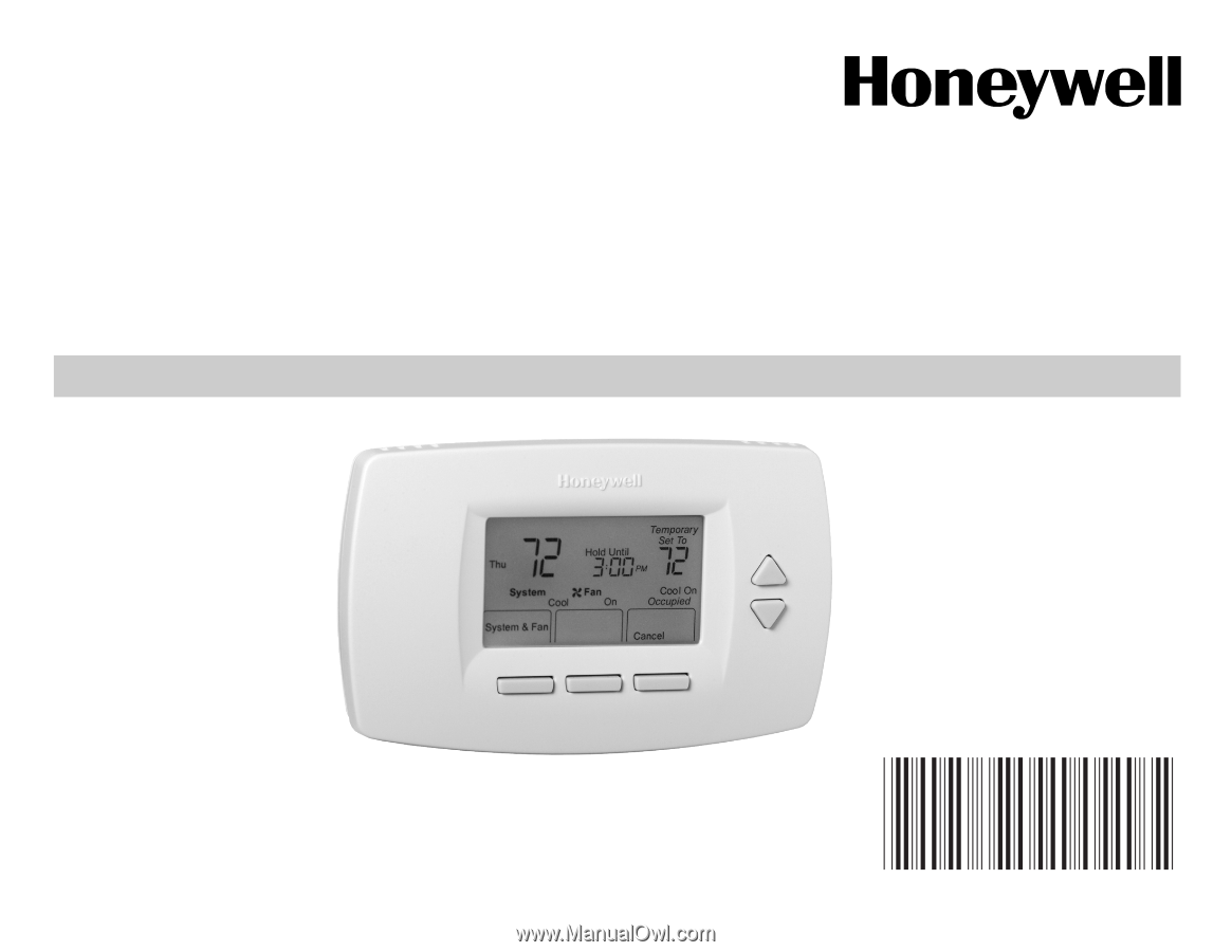 OWNER°S GUIDE. 63-2626. TB7220U Commercial. Programmable Thermostat