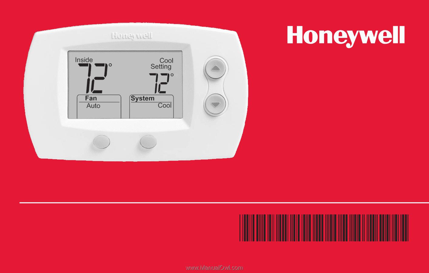 Honeywell Thermostat Installation Manual Th5220d1003 Wiring Diagram Owner S Rh Manualowl Com Th5220d Digital