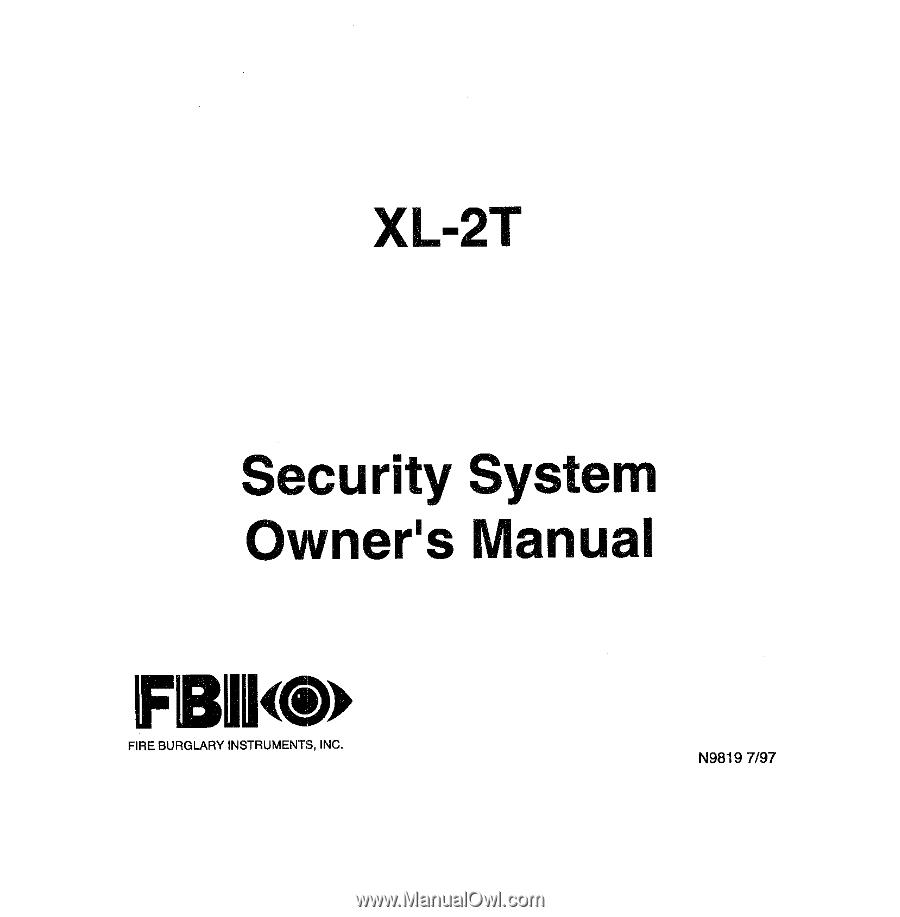 honeywell xl4600sm manual rh manualowl com fbii xl 4600 sm manual