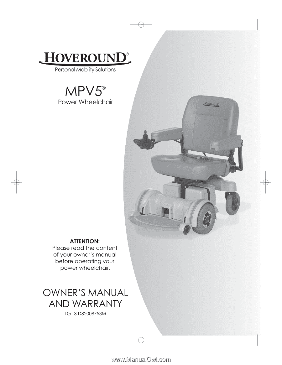 Hoveround Mpv5 Wiring Diagram from www.manualowl.com