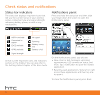 htc inspire 4g at t quick start guide HTC Inspire Features HTC Inspire Features