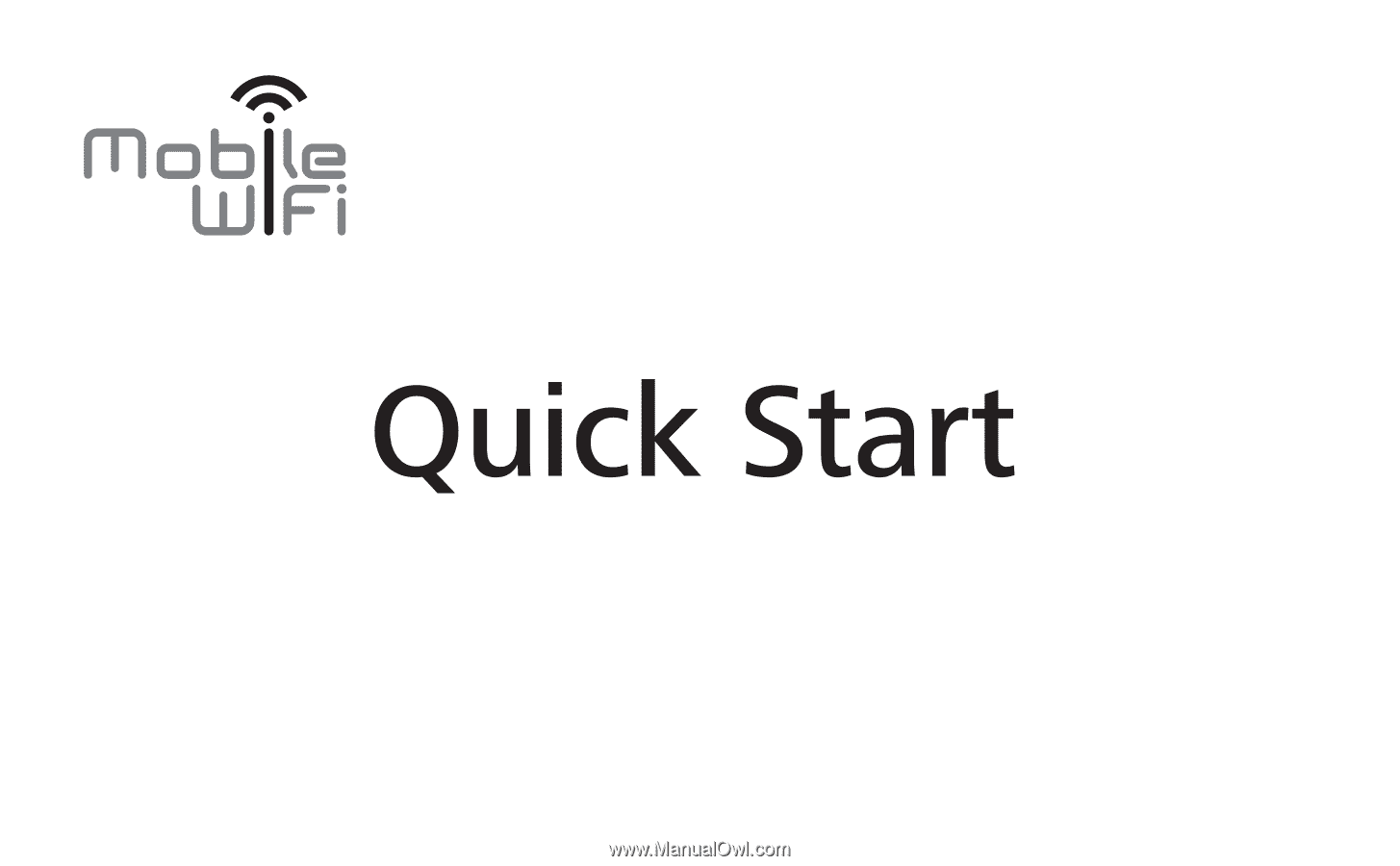 Huawei E5221 | Quick Start Guide