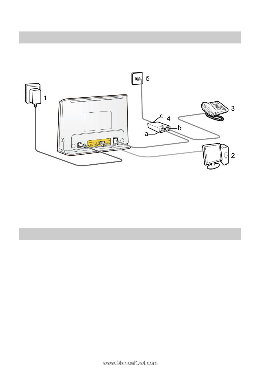 Huawei HG532 | User Manual (Spanish)