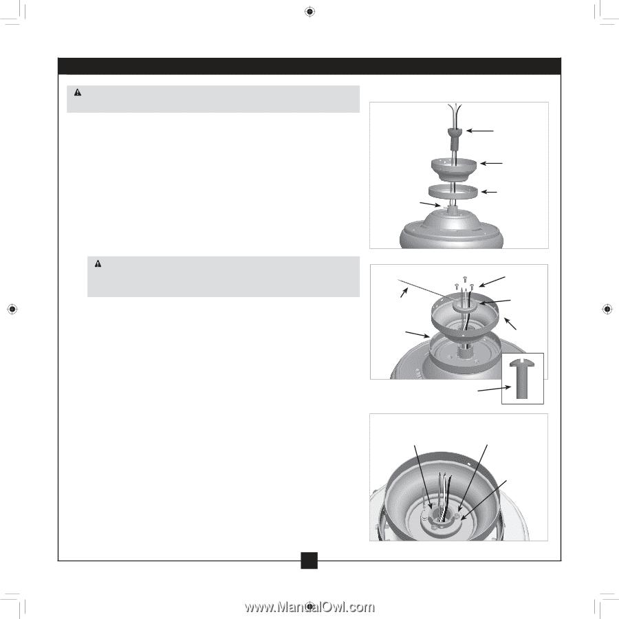 Ceiling Fan Parts List