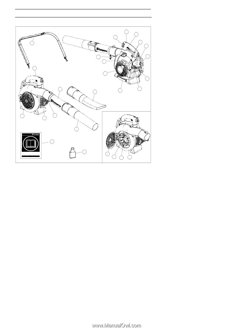 husqvarna 125b owners manual page 10 rh manualowl com husqvarna 125b user manual husqvarna 125b service manual pdf