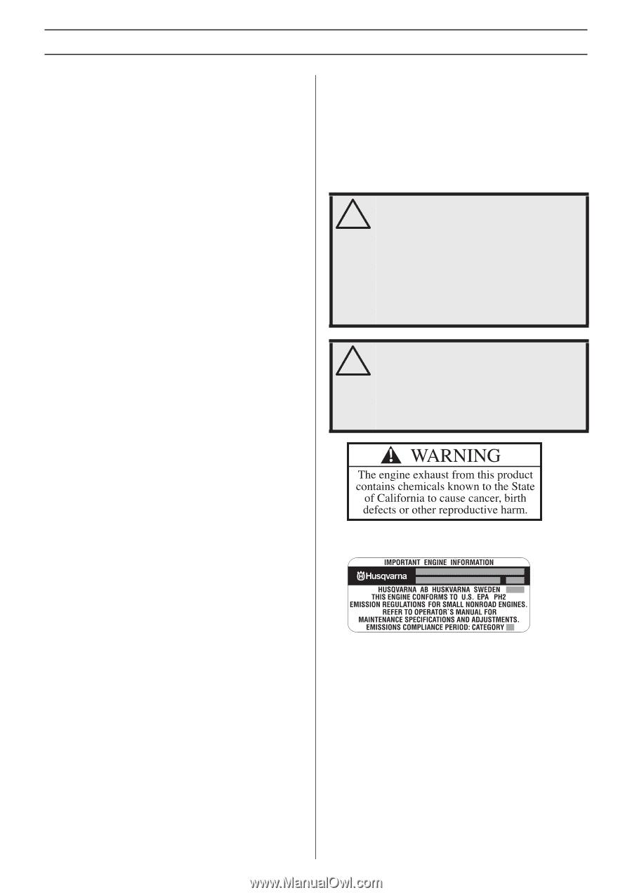 Husqvarna 223L | Owners Manual