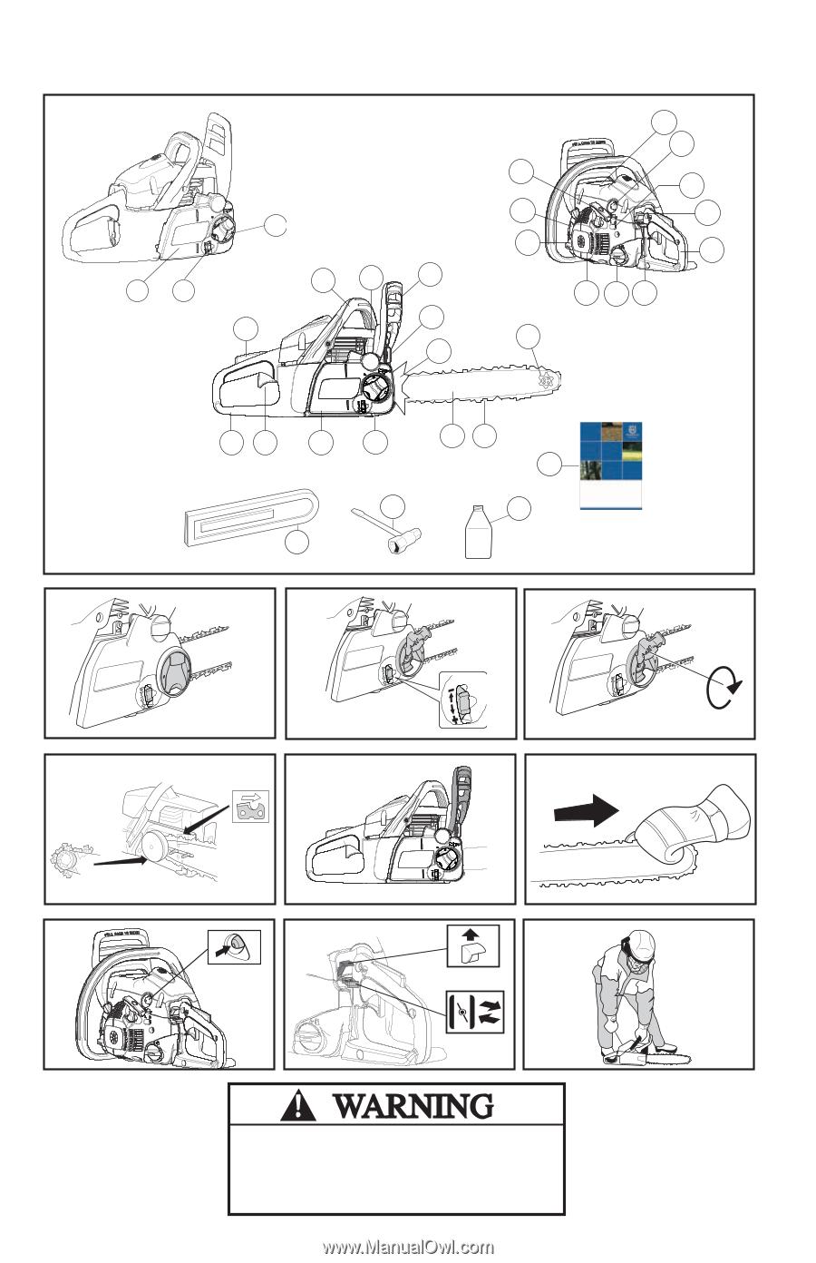 husqvarna 240 operation manual rh manualowl com Husqvarna 240 Chainsaw Manual Oiler Husqvarna 240 Owner's Manual