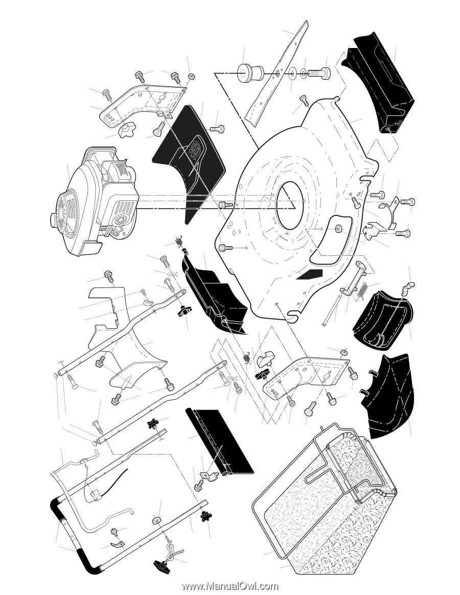 Husqvarna HU775L | Parts List