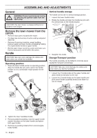 Husqvarna LC221A | Operation Manual